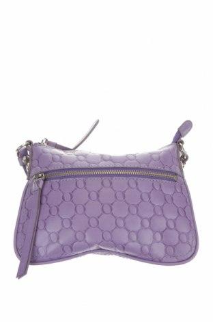 Дамска чанта Oroton, Цвят Лилав, Естествена кожа, Цена 55,76лв.