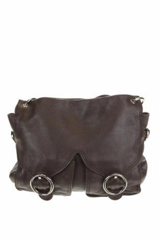 Дамска чанта Oroton, Цвят Кафяв, Естествена кожа, Цена 53,24лв.