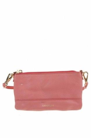 Дамска чанта Oroton, Цвят Розов, Естествена кожа, Цена 68,99лв.