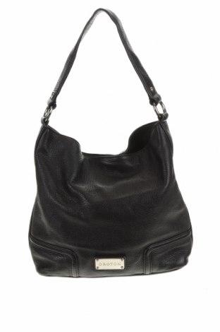 Дамска чанта Oroton, Цвят Черен, Естествена кожа, Цена 58,80лв.