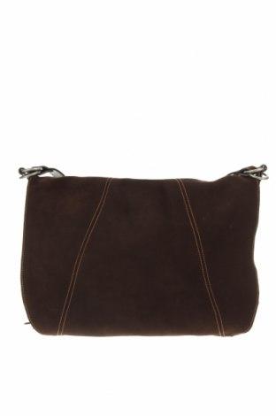 Γυναικεία τσάντα Polo Jeans Company by Ralph Lauren, Χρώμα Καφέ, Φυσικό σουέτ, Τιμή 39,90€