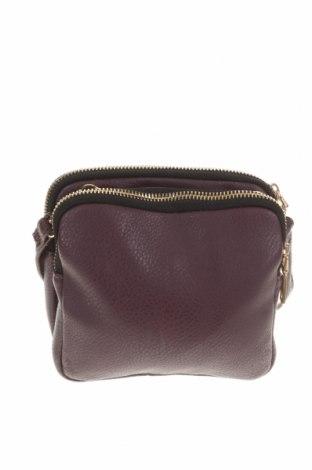 Дамска чанта Portmans, Цвят Лилав, Еко кожа, Цена 8,82лв.