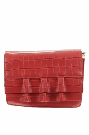 Дамска чанта Review, Цвят Червен, Еко кожа, Цена 32,34лв.