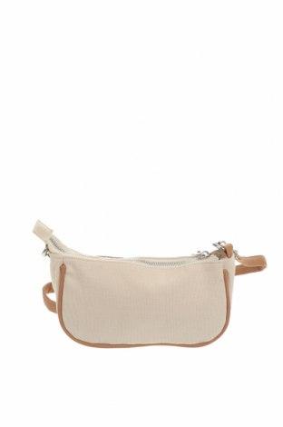 Дамска чанта Rubi, Цвят Екрю, Текстил, еко кожа, Цена 13,23лв.