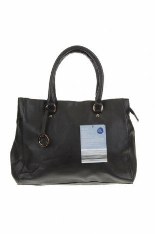 Дамска чанта Serra, Цвят Черен, Еко кожа, Цена 28,35лв.