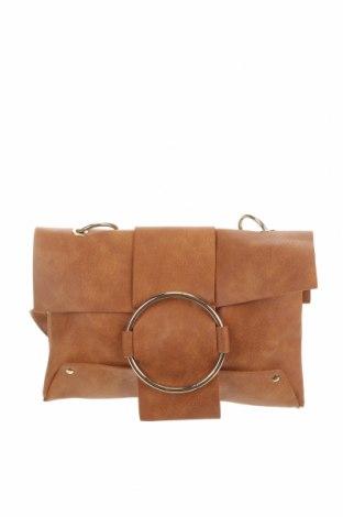 Дамска чанта Sheike, Цвят Кафяв, Еко кожа, Цена 14,11лв.