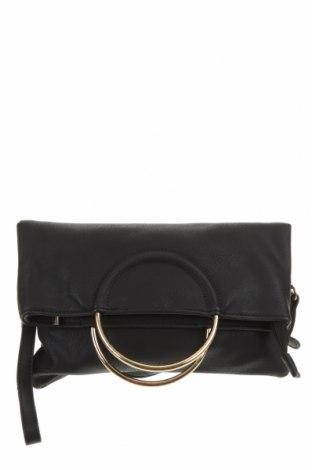 Дамска чанта Sportsgirl, Цвят Черен, Еко кожа, Цена 22,93лв.