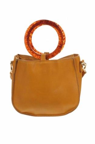 Дамска чанта Sportsgirl, Цвят Жълт, Еко кожа, Цена 6,93лв.