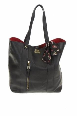 Дамска чанта Steve Madden, Цвят Черен, Еко кожа, Цена 32,71лв.