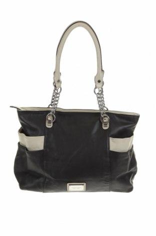 Дамска чанта Tignanello, Цвят Черен, Еко кожа, Цена 51,87лв.