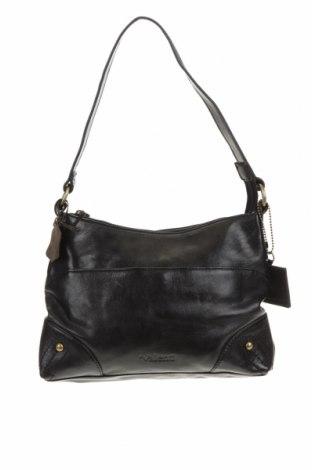 Дамска чанта Valenti, Цвят Черен, Естествена кожа, Цена 27,88лв.