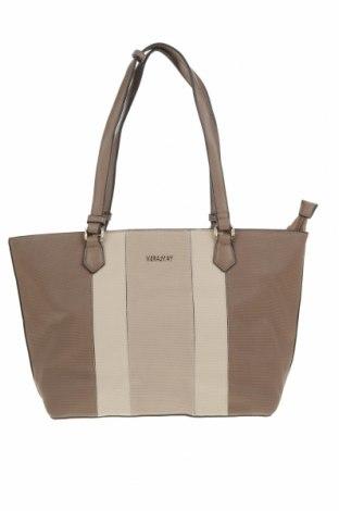 Дамска чанта Vera May, Цвят Кафяв, Еко кожа, Цена 27,93лв.