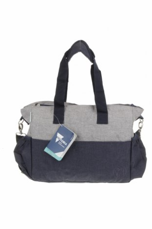 Дамска чанта Victoria, Цвят Син, Текстил, Цена 20,48лв.