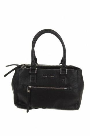 Дамска чанта Wayne Cooper, Цвят Черен, Еко кожа, Цена 53,76лв.