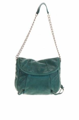 Дамска чанта Witchery, Цвят Син, Естествена кожа, Цена 68,83лв.