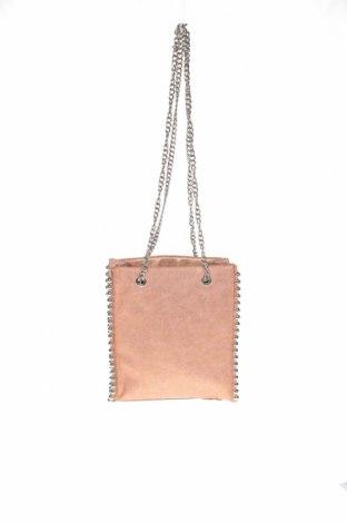 Дамска чанта Zara, Цвят Пепел от рози, Еко кожа, Цена 25,50лв.