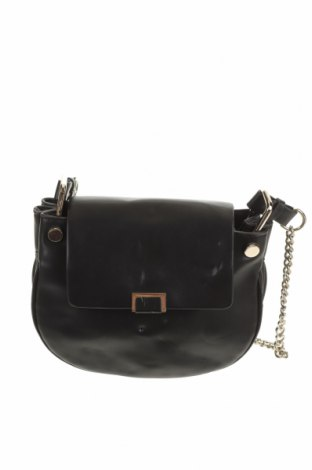 Дамска чанта Zara, Цвят Черен, Еко кожа, Цена 23,89лв.