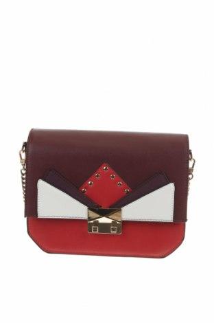 Дамска чанта Zara Trafaluc, Цвят Многоцветен, Еко кожа, Цена 28,50лв.