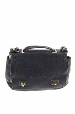Дамска чанта Zara Trafaluc, Цвят Син, Еко кожа, Цена 24,41лв.