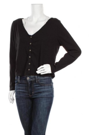 Дамска жилетка Anko, Размер XL, Цвят Черен, 53% памук, 37% полиестер, 10% еластан, Цена 8,93лв.