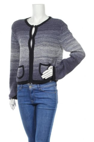 Дамска жилетка Armani Jeans, Размер XL, Цвят Син, 50% памук, 50% акрил, Цена 78,40лв.