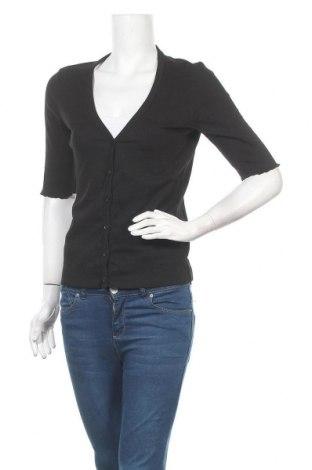 Дамска жилетка Blue Motion, Размер M, Цвят Черен, 95% памук, 5% еластан, Цена 8,82лв.