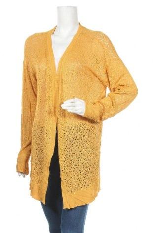 Дамска жилетка Ed.it.ed, Размер XL, Цвят Жълт, Вискоза, Цена 11,34лв.