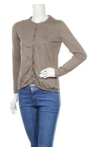 Дамска жилетка Edc By Esprit, Размер M, Цвят Кафяв, 55% памук, 45% вискоза, Цена 14,84лв.