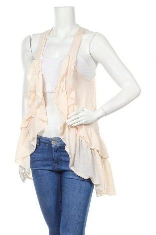 Дамска жилетка H&M, Размер S, Цвят Екрю, 100% памук, Цена 6,93лв.