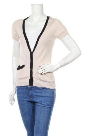 Дамска жилетка H&M, Размер M, Цвят Бежов, 50% памук, 50% модал, Цена 3,00лв.