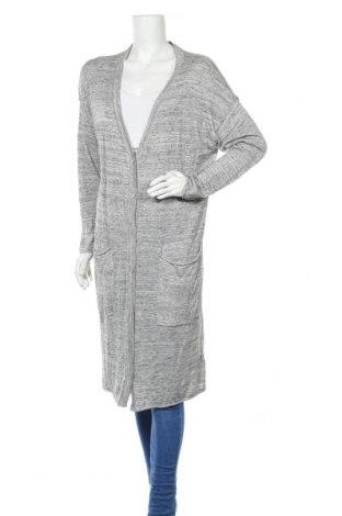 Дамска жилетка H&M L.O.G.G., Размер L, Цвят Сив, 60% памук, 40% модал, 10% лен, Цена 25,92лв.