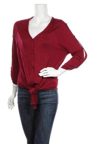 Дамска жилетка Katies, Размер XL, Цвят Червен, Вискоза, Цена 7,56лв.
