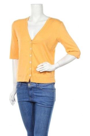 Дамска жилетка Marc Cain Sports, Размер XL, Цвят Жълт, 94% памук, 6% еластан, Цена 41,00лв.
