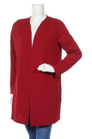 Дамска жилетка Miss Valley, Размер XL, Цвят Червен, 95% полиестер, 5% еластан, Цена 28,56лв.