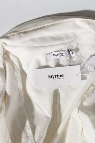 Дамска жилетка Myrine, Размер S, Цвят Екрю, Цена 15,08лв.