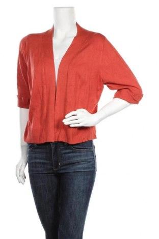 Γυναικεία ζακέτα Suzanne Grae, Μέγεθος XL, Χρώμα Πορτοκαλί, Βισκόζη, πολυαμίδη, Τιμή 5,23€
