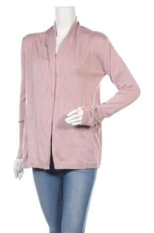 Дамска жилетка Zara, Размер M, Цвят Розов, 70% вискоза, 30% полиамид, Цена 17,10лв.