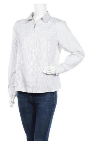 Дамска риза Anne Klein, Размер L, Цвят Бял, Памук, Цена 96,39лв.