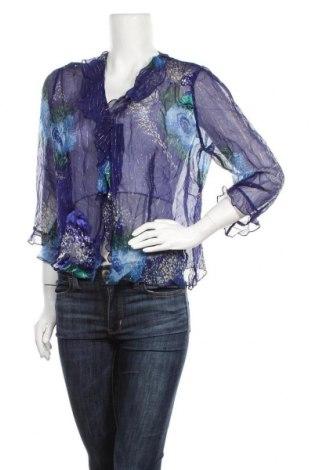 Дамска риза Anthea Crawford, Размер XL, Цвят Син, 60% коприна, 40% вискоза, Цена 27,72лв.