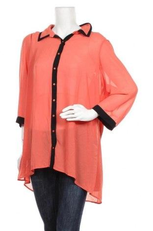 Γυναικείο πουκάμισο Autograph, Μέγεθος XL, Χρώμα Πορτοκαλί, Πολυεστέρας, Τιμή 10,72€