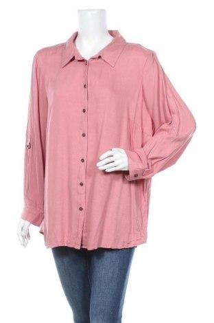 Γυναικείο πουκάμισο Autograph, Μέγεθος XL, Χρώμα Ρόζ , Βισκόζη, Τιμή 9,55€
