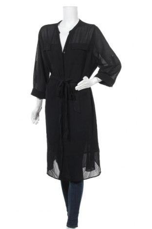 Γυναικείο πουκάμισο Autograph, Μέγεθος XL, Χρώμα Μαύρο, 95% πολυεστέρας, 5% ελαστάνη, Τιμή 15,20€