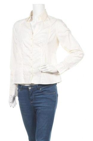 Дамска риза Avant Premiere, Размер M, Цвят Екрю, 70% памук, 26% полиамид, 4% еластан, Цена 4,64лв.