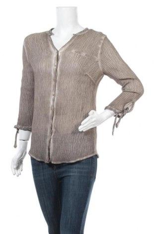 Γυναικείο πουκάμισο Charles Vogele, Μέγεθος L, Χρώμα Καφέ, 80% βισκόζη, 20% πολυαμίδη, Τιμή 4,09€