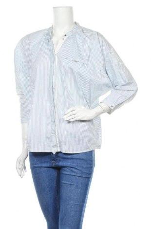 Дамска риза Day Birger Et Mikkelsen, Размер S, Цвят Син, 70% памук, 27% полиамид, 3% еластан, Цена 26,00лв.