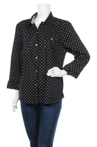 Дамска риза Karen Scott, Размер M, Цвят Черен, Цена 8,82лв.