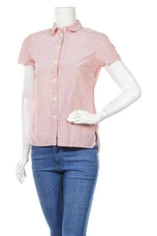 Γυναικείο πουκάμισο Lacoste, Μέγεθος S, Χρώμα Κόκκινο, 70% βαμβάκι, 30% μετάξι, Τιμή 20,48€