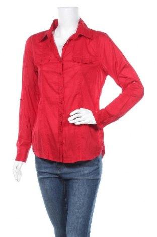 Дамска риза Multiblu, Размер M, Цвят Червен, Памук, Цена 16,07лв.