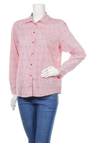 Дамска риза Paola, Размер L, Цвят Червен, Памук, Цена 7,56лв.