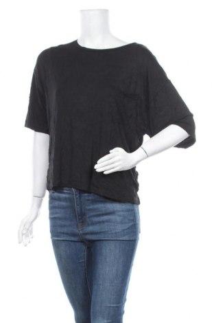 Дамска тениска American Apparel, Размер XL, Цвят Черен, 95% модал, 5% еластан, Цена 17,96лв.
